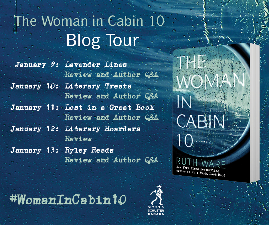 Book Review The Woman In Cabin 10 Literary Hoarders